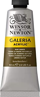 Winsor & Newton Gal 2120554gama completa de Galeria acrílico, 60ml tubo, Raw Umber