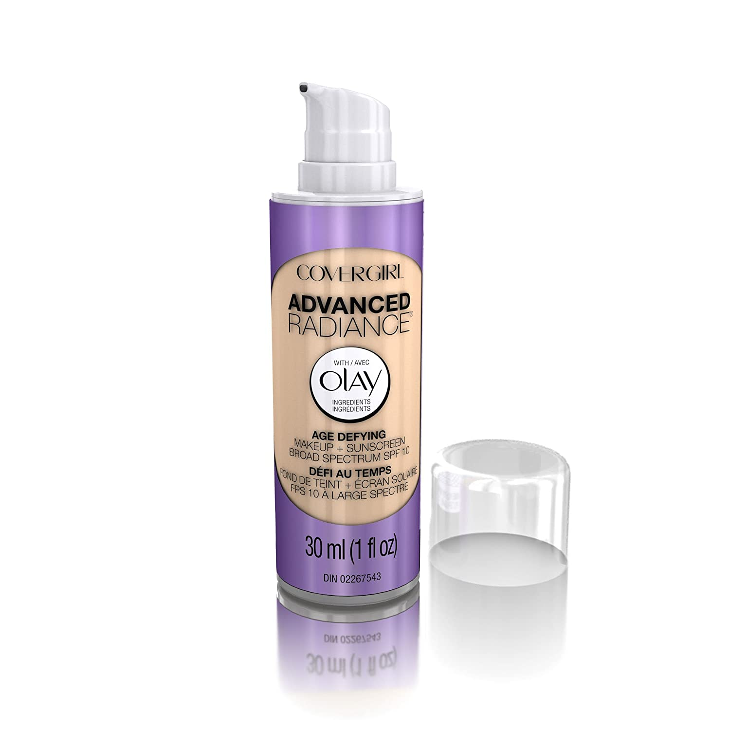 COVERGIRL Special price for a limited time Advanced Radiance Age Foundation Medium Defying Makeup Safety and trust