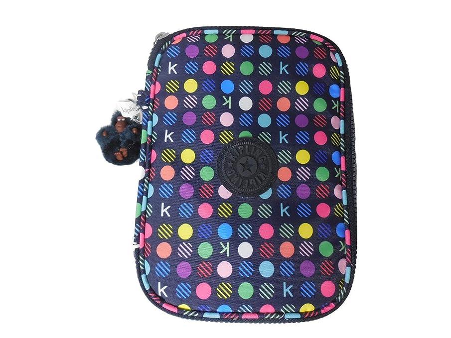 Kipling 100 Pens GM Pencil Case - K Multi DOTS, 6