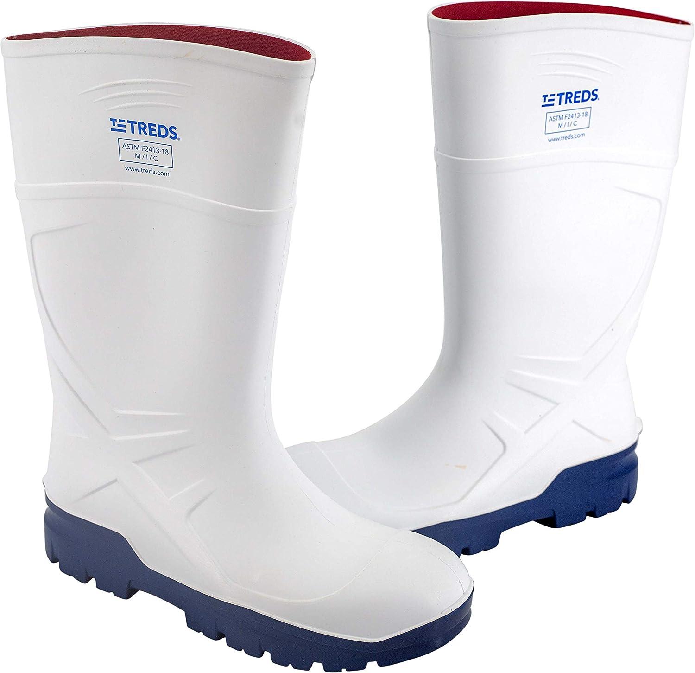TREDS, Polyurethane Knee Work Boots, Steel Toe
