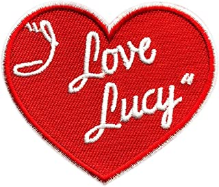 i love lucy heart patch
