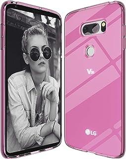 LG V30 / LG V30 Plus Case/LG V30S Case, Slim Thin Soft Skin Silicone Flexible TPU (Anti-Fingerprint) Shock Absorption Tech...