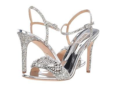 Badgley Mischka Odelia (Silver) High Heels