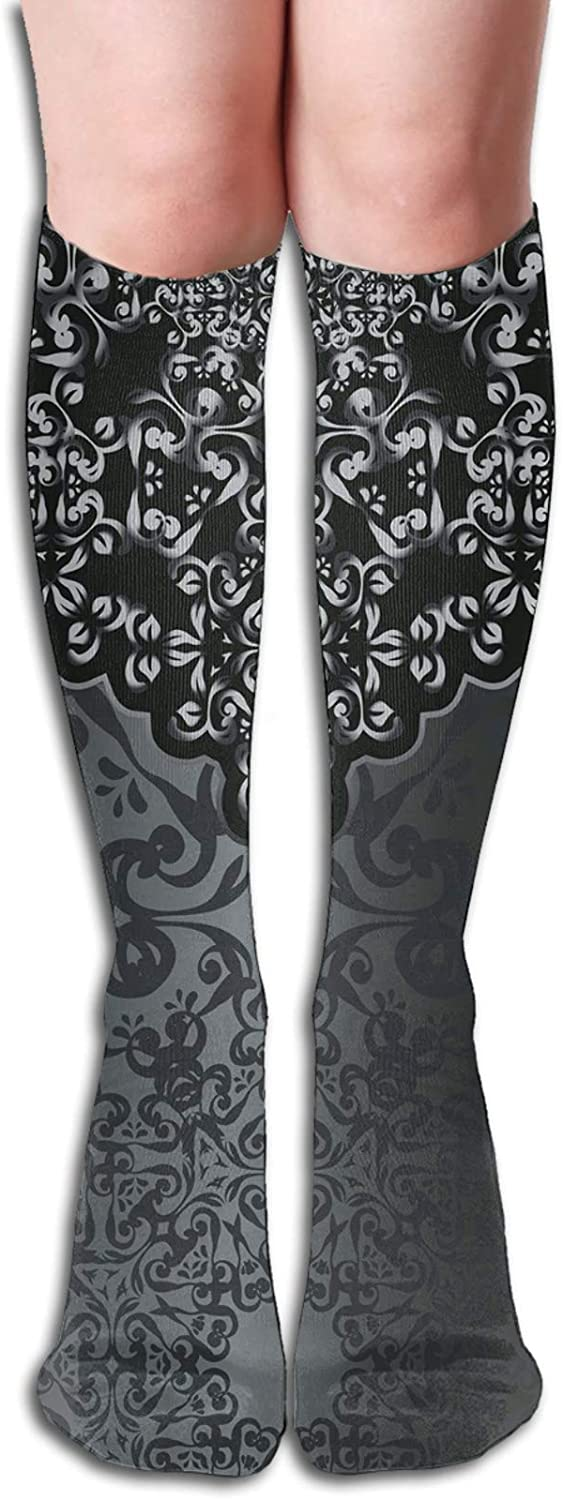 Men Women Sports socks Vintage Large special price !! Victoria Ornament Sales of SALE items from new works Inspired Damask