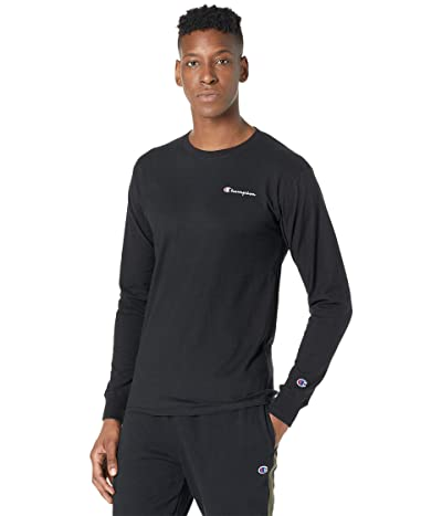 Champion Classic Graphic Long Sleeve T-Shirt (Black) Men