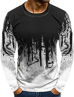 TIANRUN Summer Mens Tee Slim Fit Hooded Short Sleeve Muscle Casual Tops Shirts