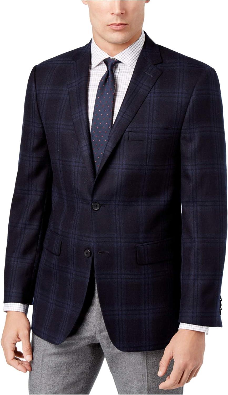 Vince Camuto Men's Modern Fit Windowpane Sport Coat