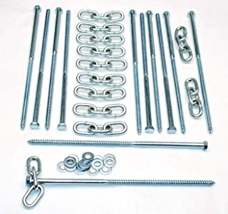 lag screws for tent stakes