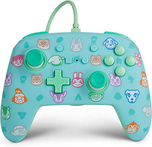 PowerA Enhanced Wired Controller, Animal Crossing - Nintendo Switch Accessories
