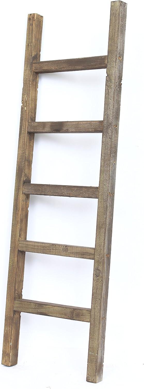 Charlotte Mall Selling BarnwoodUSA Rustic Farmhouse Decorative Ladder - 4 ft Our