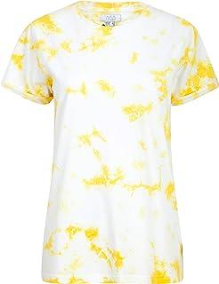 NOROZE Womens's T-Shirt Round Neck Tops Fashion Print Blouses Summer Dress Cotton Tee Shirt