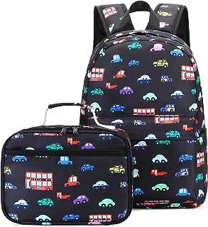 حقيبة ظهر للأطفال الصغار مع صندوق غداء حقائب ظهر للأطفال في مرحلة رياض الأطفال مجموعة حقيبة مدرسية