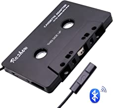 Reshow Bluetooth Cassette Adapter for Car with Stereo Audio, Wireless Cassette Tape to..