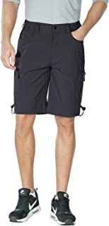 Sponsored Ad - Nonwe Men's Outdoor Quick Dry Hiking Cargo Shorts