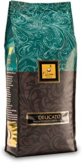 Whole Bean Coffee - Filicori Zecchini - Delicato - Espresso - Italian Roast (Medium Dark) - Gourmet Blend of Brazil, Guatemala, India Coffee Beans - Made in Italy - 2.2Lb (1kg) Bag
