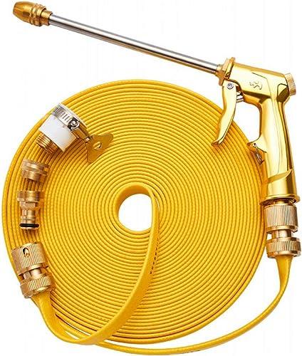 ChaRLes 10M Lave-Linge De Pression Nettoyage Hose oren Tube -Extension Eau G-Un 5 Connecteurs