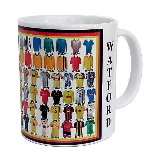 f39514b1b12 Watford mug Watford shirt History Mug Ceramic Mug football Mug