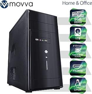 COMPUTADOR NITRO INTEL I7 8700 3.2GHZ 8ª GERAÇÃO MEMORIA 8GB HD 1TB HDMI/VGA FONTE 350W - LINUX - MVNII7H3101T8 - MOVVA