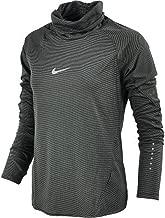 Nike Women's Aeroreact Long Sleeve Running Top Black 686955 010