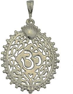 diamond ganesh pendant