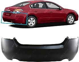 MBI AUTO - Primered, Rear Bumper Cover for 2007 2008 2009 2010 2011 2012 Nissan Altima Sedan & Hybrid 07-12, NI1100248