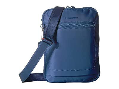 Hedgren Inter-City Trek Vertical Crossbody RFID (Navy Peony) Cross Body Handbags
