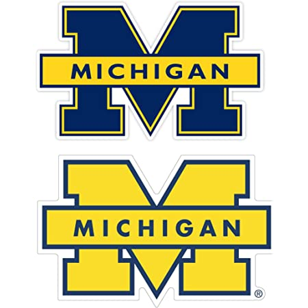 University of Michigan Vinyl Stickers Wall Art ////Any-Size////Football Michigan Wolverines Stickers Car Laptop Outdoor