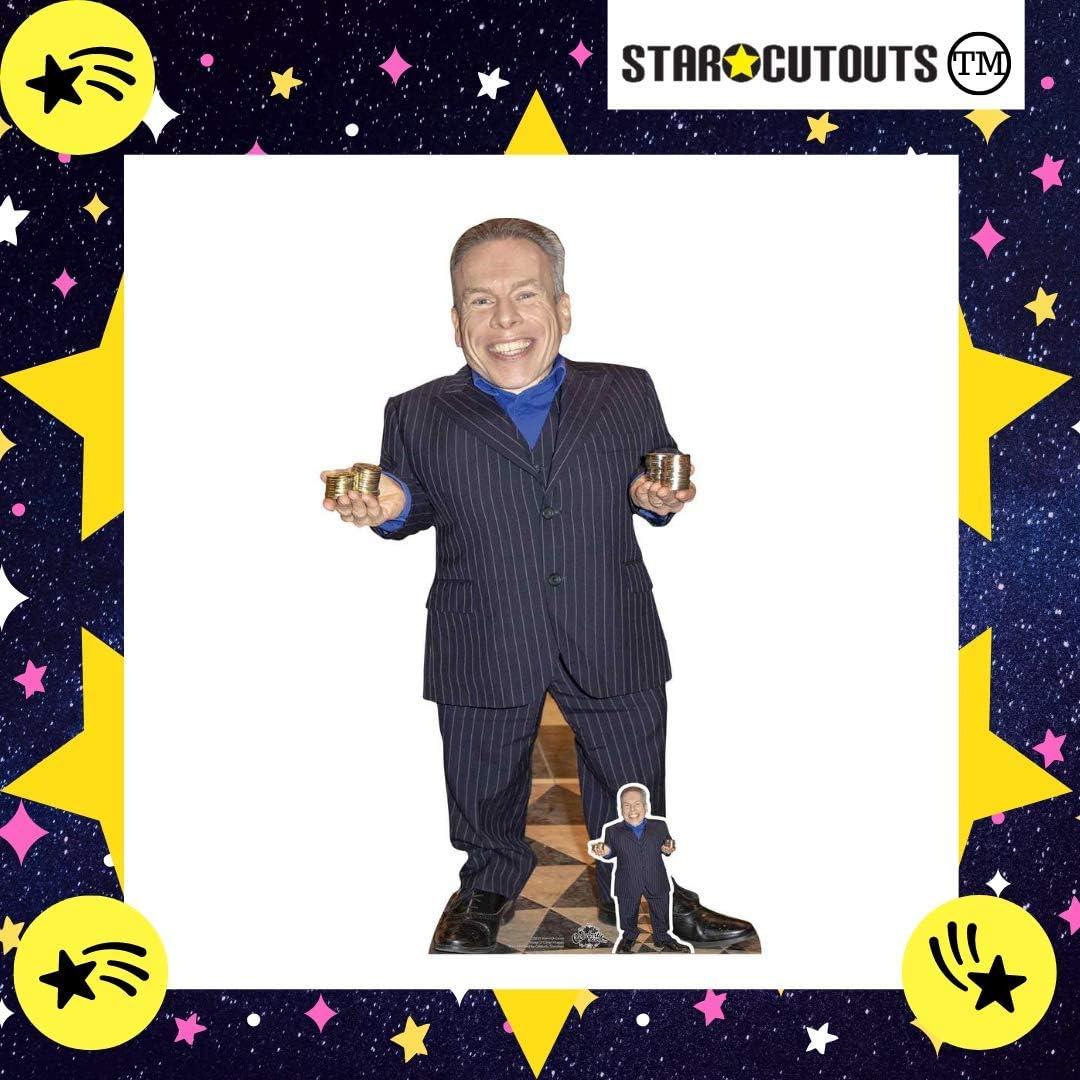 amigos y familiares multicolor Star Cutouts Ltd CS832 Arnold Schwarzenegger Lifesize Recorte de cart/ón con mini Standee gratis regalo para aficionados