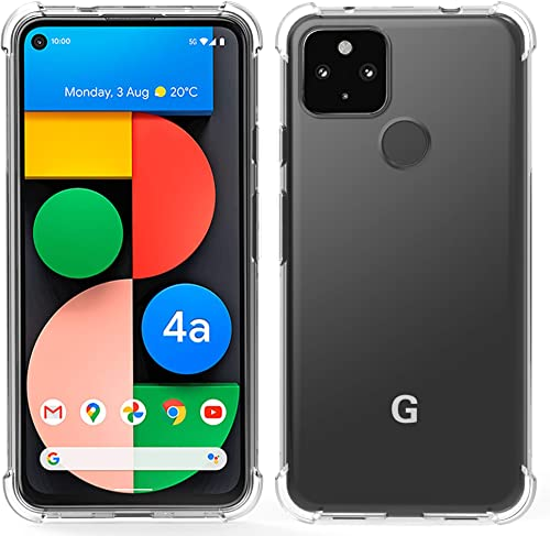 high quality Arae Case popular popular for Google Pixel 4A 5G, Premium Soft and Flexible TPU [Scratch-Resistant] Phone Case for Google Pixel 4A 5G, 6.2inch, Crystal Clear online sale