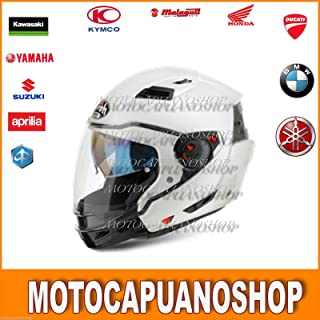 Casque AIROH Jet Compact Pro Blanc CP14 Taille XL