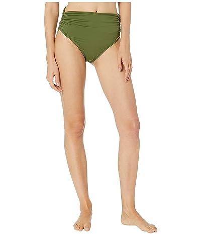 Vince Camuto Riviera Solids Convertible High-Waist Bikini Bottom (Fern) Women