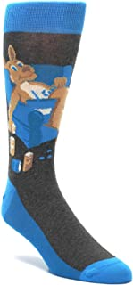 Kangaroo Pouch Potato Men's Dress Socks