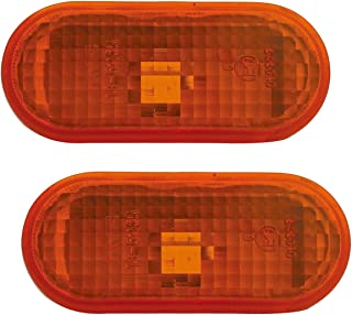 TYC 18 5235 05 2 Set Seitenblinker Set in Orange (2teilig) Links + rechts Blinke