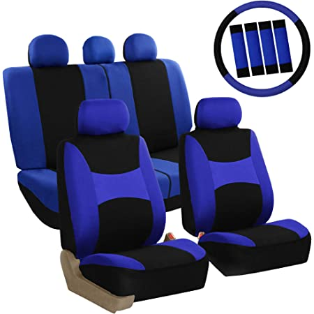 Heavy Duty /& Waterproof Town /& Country Covers Universal 3D Airbag Compatible Seat Cover with Wittering Surf Branding Black Front Passenger Seat
