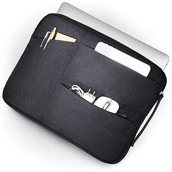 Evoon パソコン ケース ノートパソコン ケース 13-13.3インチ 防水/衝撃吸収/多機能 macbook air 13 / MacBook Pro 13 / surface pro/インナーバック PCケース PCバッグ パソコンバッグ (13.3inch ブラック)