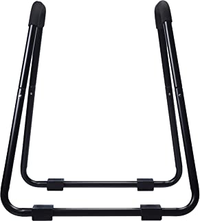 AmazonBasics Dip Fitness Bar - 34 x 32 x 38 Inches, Black