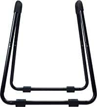 AmazonBasics Dip Fitness Bar – 34 x 32 x 38 Inches, Black