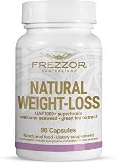 FREZZOR Weight-Loss Supplement 1-Pack, All-Natural New Zealand Superfoods, Carbohydrate Blocker, Fat Burner, Metabolism Bo...
