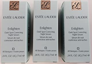 Estee Lauder Enlighten Dark Spot Correcting Night Serum 7ml Travel Size LOT of 3
