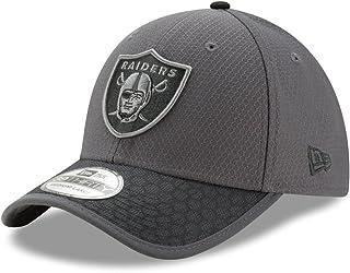 e7e949e7cbd0f New Era Hommes 39Thirty 2017 Nfl Sideline Oakland Raiders Casquette Gris  Foncé