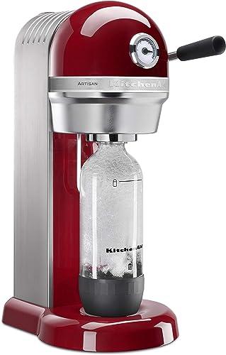 discount KitchenAid outlet sale Sparkling Beverage Maker, Empire online sale Red (Renewed) outlet sale