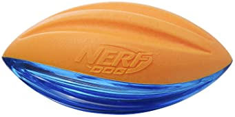Nerf Dog Durable Dog Toy Gifts, made with Nerf Tough Material, Lightweight, Non-Toxic, BPA-Free, Assorted Toys