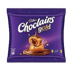Cadbury Choclairs Gold Home Pack (25 Candies), 137.5 g