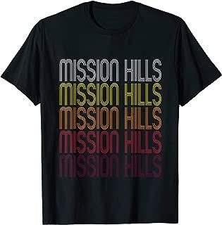 Mission Hills, KS   Vintage Style Kansas T-shirt