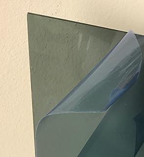 "SIBE-R Plastic Supply - Light Gray/Smoke Transparent Acrylic Plexiglass #2064-1/8"" - 24"" x 48"" Acrylic Plastic Sheet"