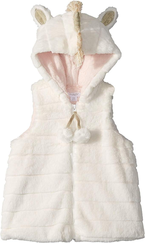 Mud Pie Womens Unicorn Vest (Infant/Toddler)