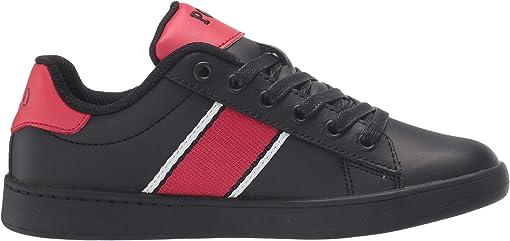 Black Leather/Red/Black/White/Americana Boy Bear