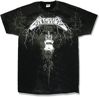 Metallica Ride Lyrics AO Black T Shirt