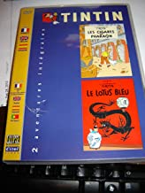 Les Aventures de Tintin : Les Cigares du Pharaon / Le Lotus bleu / Region 2 PAL DVD / Audio: English, French, Spanish / Subtitles: English, French, Spanish, Portuguese / Actor: David Fox, Susan Roman, Wayne Robson, John Stocker, Vernon Chapman, Dan Hennessey, Maureen Forrester, Harvey Atkin, Peter Meech