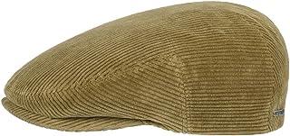 Stetson Coppola a Coste Kent Uomo - Made in The EU Cappello Piatto Berretto Cappellino da con Visiera, Fodera Autunno/Inverno